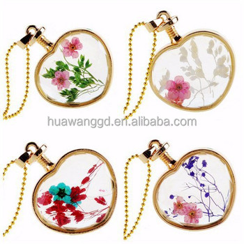 Wholesale can not open sterling glass memory locket with flower/newest gold glass locket design