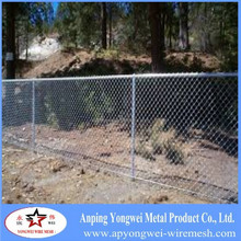 used hot dipped galvanized chain link fence factory