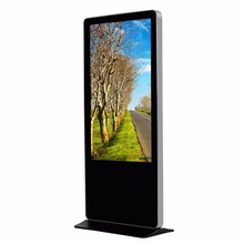 "55"" Indoor Kiosk Stand PC Touch Screen"