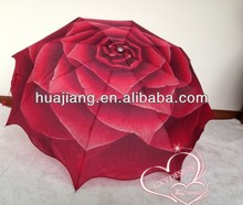 21 inch 8 panels 3 fold flower girl umbrella