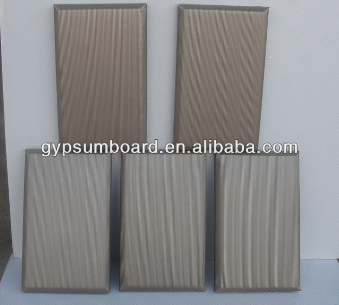 595*595*20/25mm acoustic insulation wall panels with glass fiber