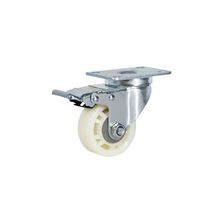 small mini duty swivel nylon caster wheels price