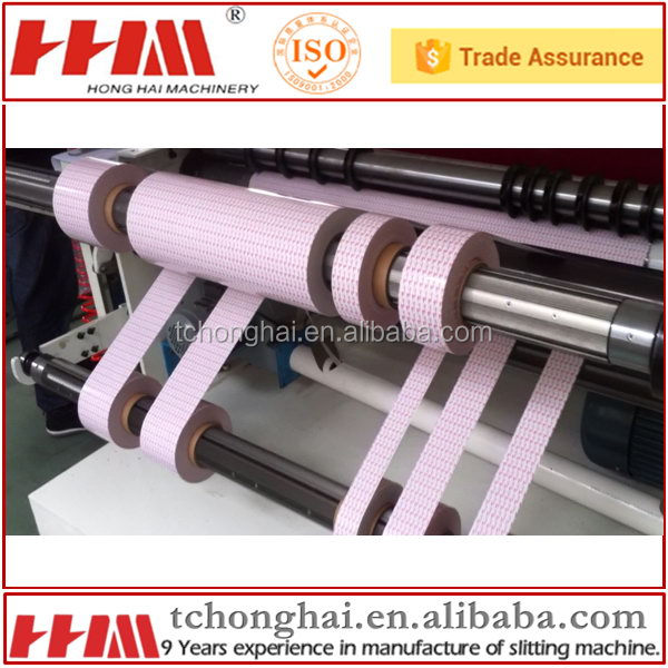 High stable top grade copper foil slitting laminating machine