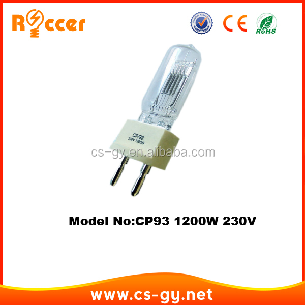 High CK single-ended halogen lamps CP93