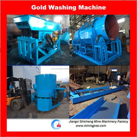 alluvial gold dust concentrating plant