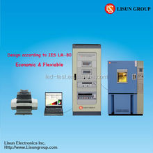 LEDLM-80PL LED Aging Tester according to IESNA LM-80-2008, LM-82, TM-21, IEC and CIE Standards.