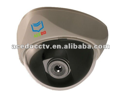 indoor color CCD dome guarding camera