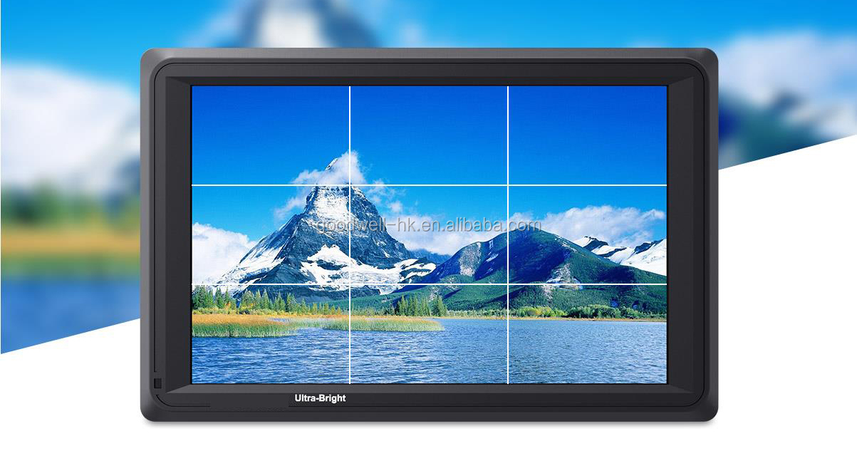 2200 Nit Ultra Bright 1920x 1200 IPS Panel 7 Inch Full HD DSLR LCD Monitor built in 3G-SDI & 4K HDMI Input and Output