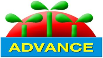 "dua hau dep ""Advance Seeds"" Brand"
