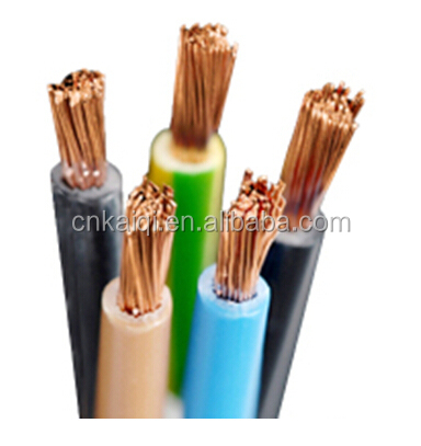 450/750 V IEC 60227 Standard, Flexible Copper Conductor PVC Insulated 25mm electric cable wire