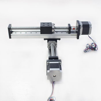 Gantry Robot Cross Cnc Linear Module Guide Rail Slide Table Motion Actuator  Ball Screw Xy Stage Motorized Robotic Arm Kit - Buy Linear Guide,Xy Table