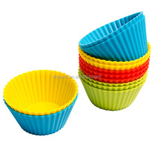 SS-4202 Silicone Muffin Cups Reusable Silicone Cupcake Cases