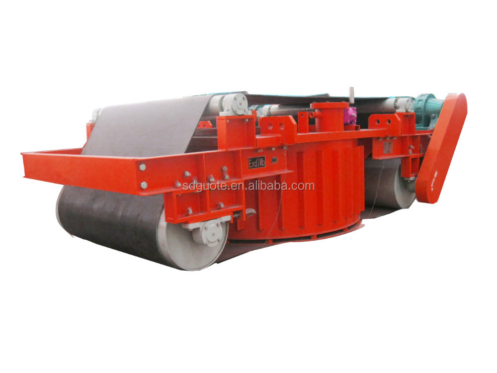 New Magnetic Separator for Conveyor Belt Series RCDD for iron ore mining processing