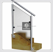 Stainless steel railing baluster
