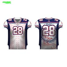 Drifit digital printing American football sublimation jersey
