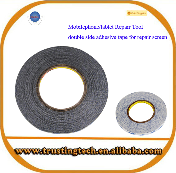 White 3M Double Side Adhensive Tape 1mm 2mm 3mm 5mm 6mm 8mm 10mm 12mm 15mm 20mm 30mm for LCD Touch Panel Repairing