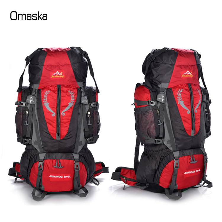 2017 high capacity waterproof hot sale Oxford multifunctional hiking <strong>backpack</strong>