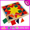 2015 intelligent wooden puzzle/custom jigsaw puzzle/3d puzzle game W10B068-23