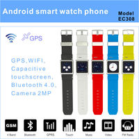 2014 new designed android smart watch phone