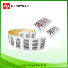 Custom Logo Printed Blank Label Roll Adhesive Sticker