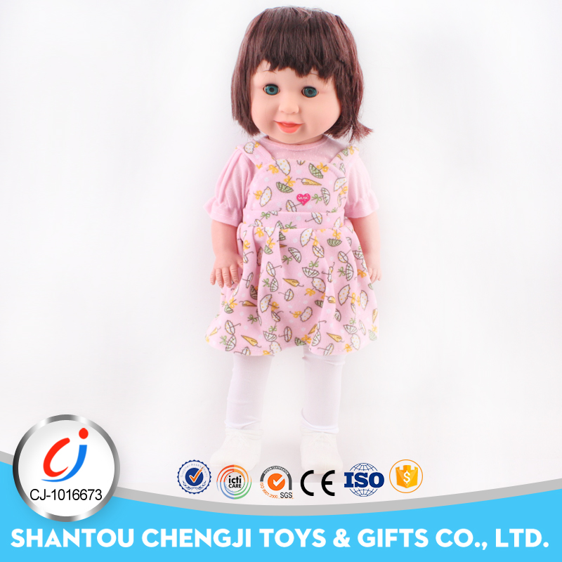High quality girl toy big 20 inch baby soft plastic doll bodies