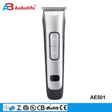 magic LCD stainless steel polishing rechargeable ear nose hair trimmer beard shaver