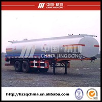Best Sale Fuel Tanker Semi-trailer (Rear Two BPW Axles)