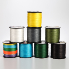 low price large stock 8 strands 300 meters PE braided fishing line 6-120LB