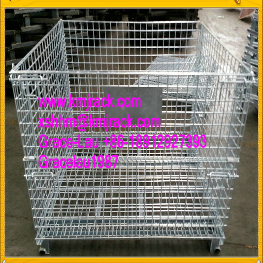 china supplier steel storage cage manufacturer