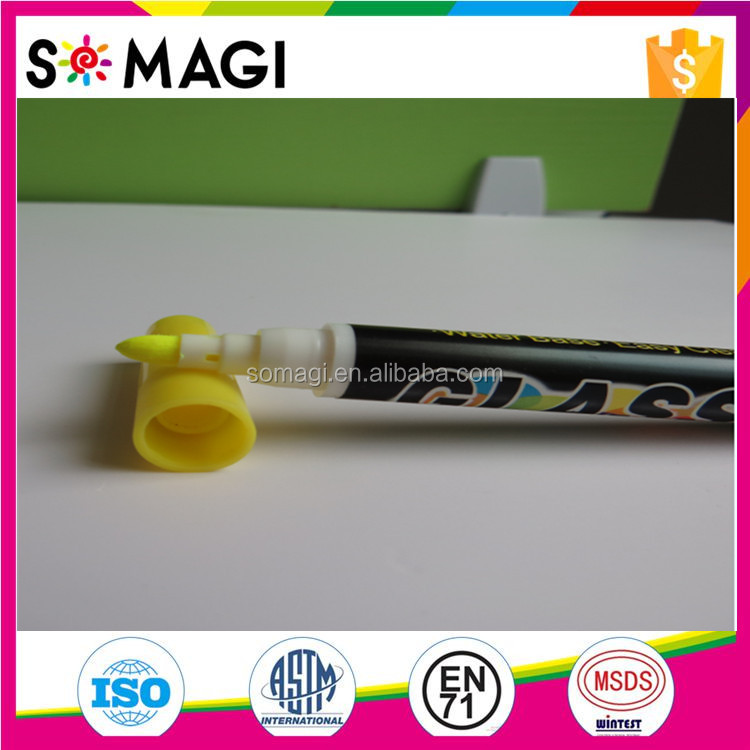 Mini 4mm Nib Fluorescent Liquid LED Writing Board Pen Customized Design For Promote New Items In Restaurants And Bars