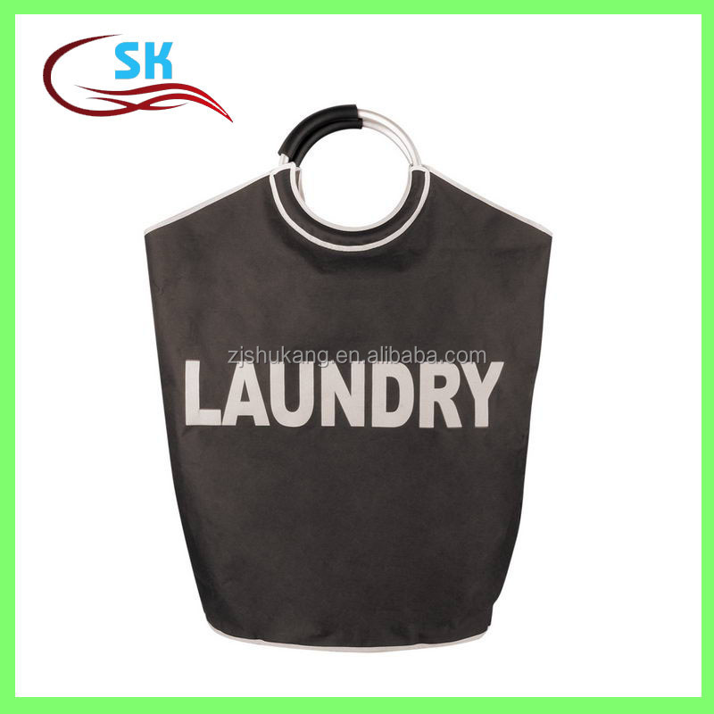 Zhejiang Shukang wholesale 2016 new design polyester laundry bag container of used clothes