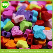 China ebay supplier red heart shaped beads in bangalore
