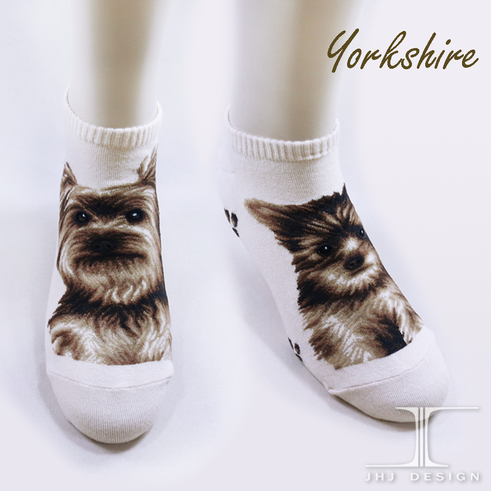 The Dog Series Yorkshire Ankle Socks / Women trend socks