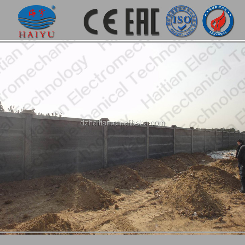 concrete fence mold, precast concrete fence panels