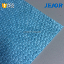 embossed pattern nonwoven fabric industrial wipes roll for cleaning
