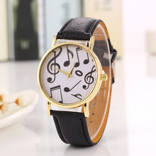 Wholesale Foreign Trade Fashion Music Character Watch Women Children Leisure Sports WATCH Reloj