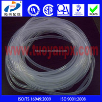 Professional Extrusion Translucent Silicone Wire Sleeve