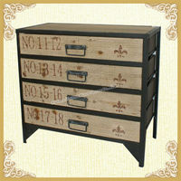 French Style accent wooden dressers for home