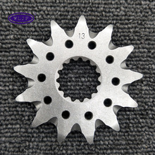 custom made lightweight steel front motorcycle sprocket