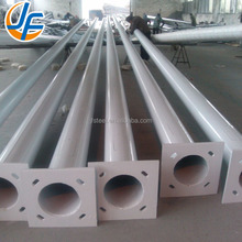 Customized street light pole steel galvanized plating sheet metal fabrication