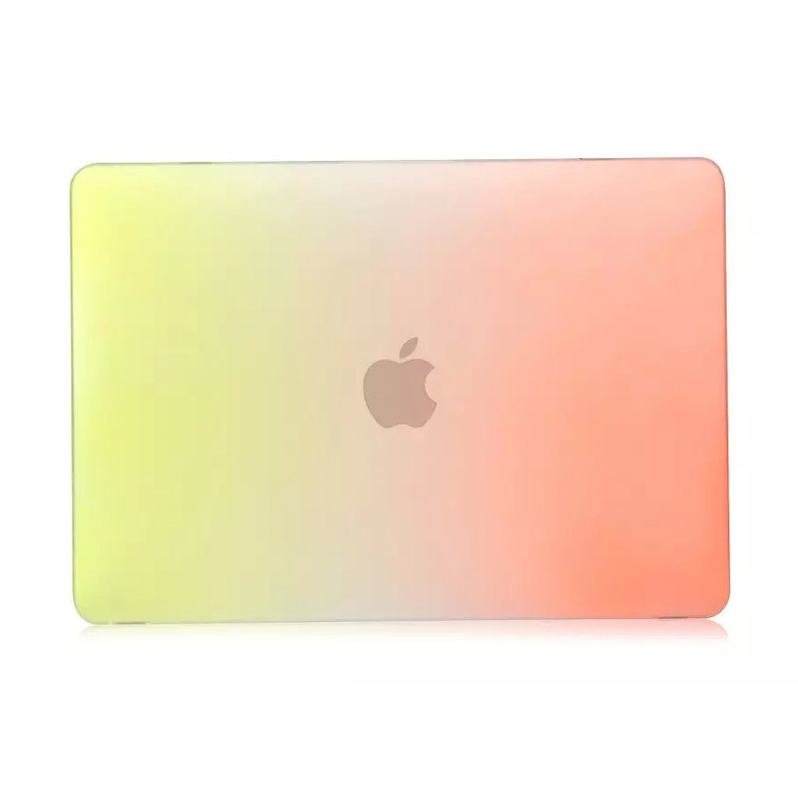 "Rainbow Laptop Rubberized Hard Case Cover Shell for Macbook Retina 12 "" inch"
