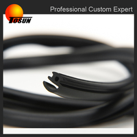 customized high quality car door rubber strip for car with TS16949