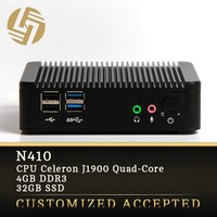 thin client 2 ethernet desktop J1900 android mini pc