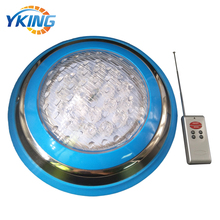 Stainless steel Remote control Color Change 12w RGB 12v swimming pool light