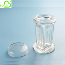 Medical Lab Glass 5-10 Slides Staining Jar with Glass Cover