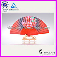 Fuzhou Party Decor Fabric Flamenco Hand Fan