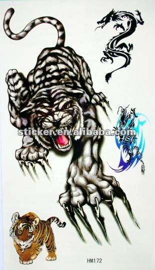 Temporary tattoo sticker supply competitive price high quality
