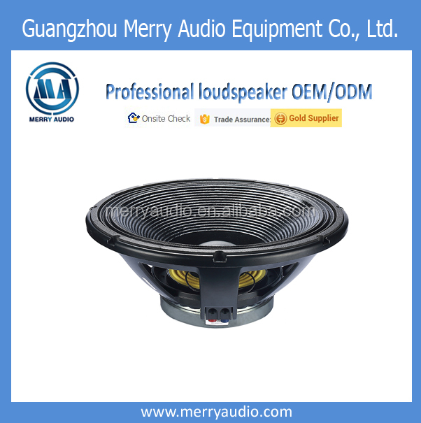 High powered big bass woofer 18 inch 100mm pa speaker driver with wholesale price