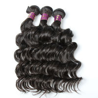 Free Shipping 14 16 18 Inch No Chemical Process Tangle Free Virgin Brazilian Remy Hair
