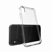 TPU + PC shockproof case for iphone x case clear, clear for iphonex case pc tpu anti shock